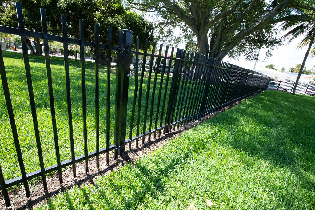 Stillwater Park - current perimeter fence